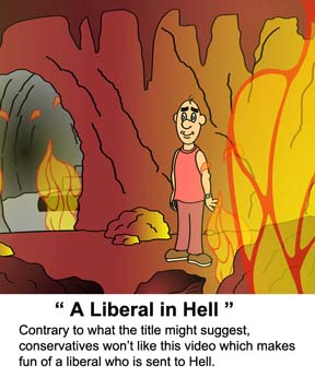 video a liberal in Hell