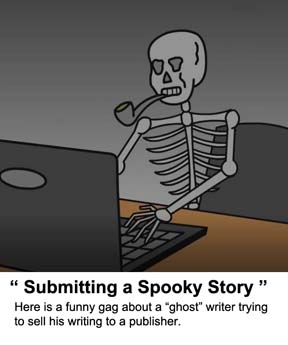 video submitting  a spooky story